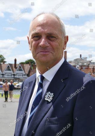 Editorial photo of Henley Royal Regatta preparations, Henley on Thames, Oxfordshire, UK - 01 Jul 2019
