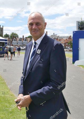 Stock Photo of Sir Steve Redgrave CBE Chairman of Henley Royal Regatta