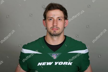 This is a 2019 photo of Davis Webb of the New York Jets NFL football team. This image reflects the New York Jets active roster as of when this image was taken