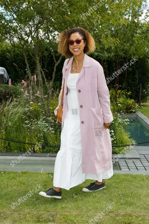 British actress Sophie Okonedo at the press day of the RHS Hampton Court Palace Garden Festival in London, Britain, 01 July 2019. The RHS Hampton Court Palace Garden Festival is a garden show held for five days by the Royal Horticultural Society in the grounds of Hampton Court Palace and runs this year from 02 July to 07 July.