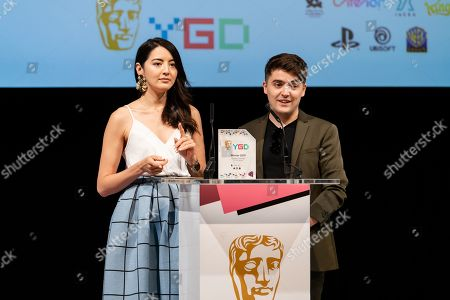 Editorial picture of BAFTA Young Game Designers Awards, Rehearsals, London, UK - 29 Jun 2019