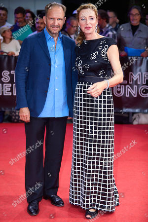 Ralph Fiennes and Diana Iljine