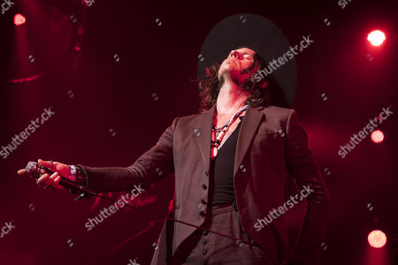 Vocalist Jay Buchanan of US band Rival Sons perfoms during the 53rd Montreux Jazz Festival (MJF), in Montreux, Switzerland, 01 July 2019. The MJF runs from June 28 to July 13 and features 450 concerts.