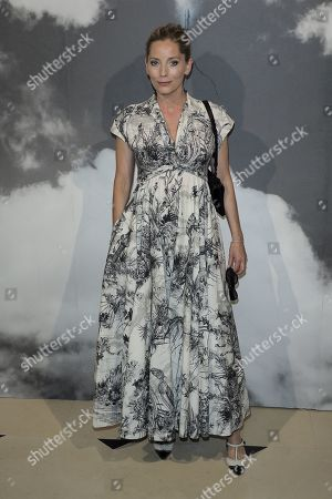 Stock Photo of Lucie de la Falaise in the front row