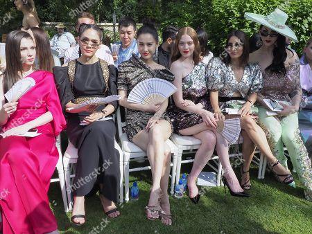 Araya A. Hargate, Larsen Thompson, Karen Wazen Bakhazi and guests