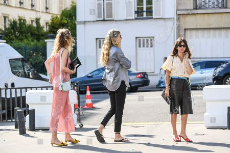 Editorial photo of Street Style, Fall Winter 2019, Haute Couture Fashion Week, Paris, France - 30 Jun 2019