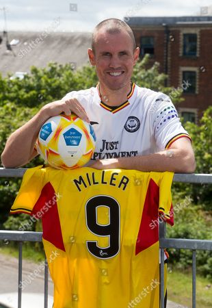Former Scotland player Kenny Miller signs for Partick Thistle