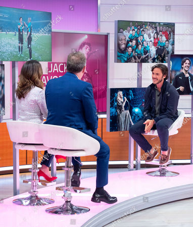Piers Morgan and Susanna Reid with Jack Savoretti