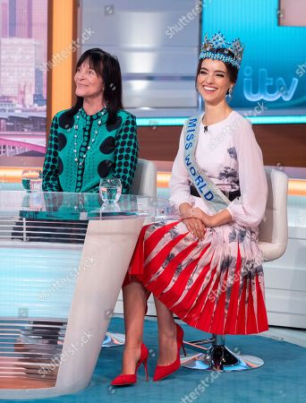 Julia Morley and Vanessa Ponce de Leon
