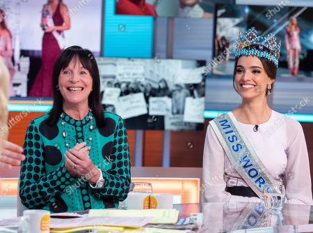 Stock Picture of Julia Morley and Vanessa Ponce de Leon