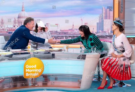 Editorial picture of 'Good Morning Britain' TV show, London, UK - 02 Jul 2019