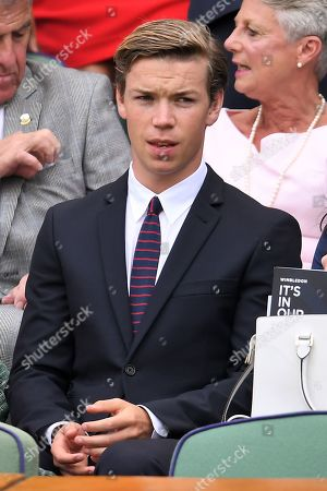 Will Poulter on Centre Court