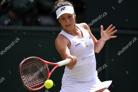 Tatjana Maria during her first round match