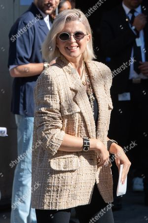 French actress and singer Cecile Cassel, alias HollySiz arrives for the presentation of the Fall/Winter 2019/20 Haute Couture collection by French designer Virginie Viard for Chanel fashion house during the Paris Fashion Week, in Paris, France, 02 July 2019. The presentation of the Haute Couture collections runs from 30 June to 04 July.