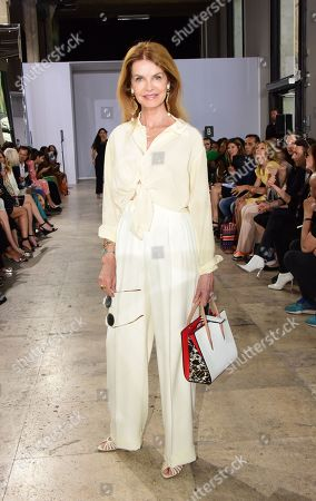 Editorial photo of Georges Chakra show, Front Row, Fall Winter 2019, Haute Couture Fashion Week, Paris, France - 01 Jul 2019