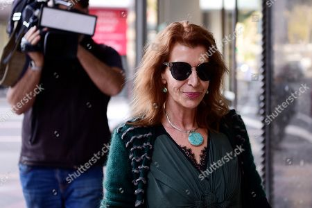 Rosa Miano, wife of Australian actor John Jarratt, arrives at the Downing Centre Local Court in Sydney, New South Wales, Australia, 02 July 2019. Jarratt has pleaded not guilty to allegations of raping a former housemate in 1976, media reported.