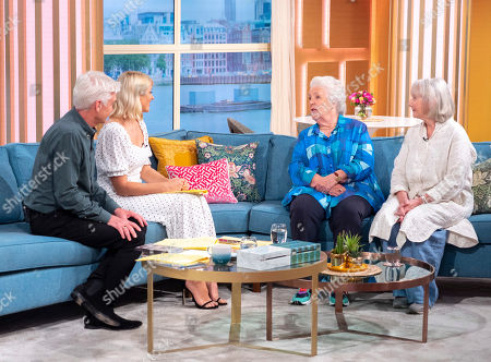 Phillip Schofield, Holly Willoughby, Stephanie Cole and Gemma Jones