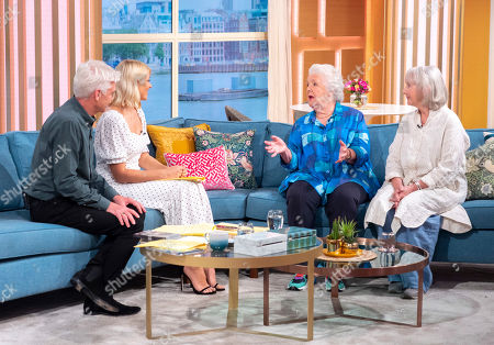 Stock Picture of Phillip Schofield, Holly Willoughby, Stephanie Cole and Gemma Jones