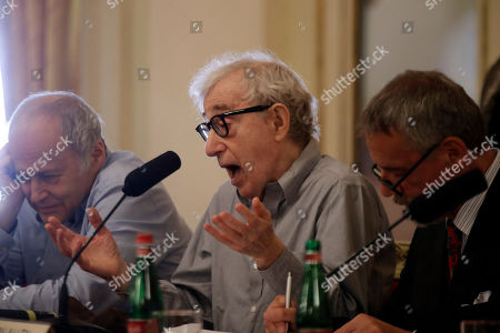 Editorial image of La Scala Woody Allen, Milan, Italy - 02 Jul 2019