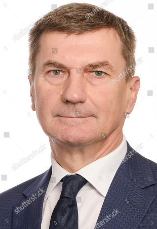 Stock Photo of Andrus Ansip