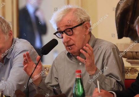 Editorial photo of Woody Allen press conference, Milan, Italy - 02 Jul 2019