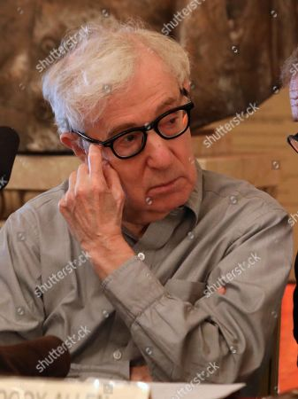 Editorial picture of Woody Allen press conference, Milan, Italy - 02 Jul 2019