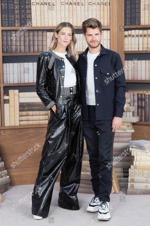 Nora Monsecour and Lukas Dhont attend the Chanel photocall as part of Paris Fashion Week - Haute Couture Fall Winter 2020 at Grand Palais on July 02, 2019 in Paris, France//03VULAURENT_14160056/1907021441/Credit:LaurentVu/SIPA/1907021449