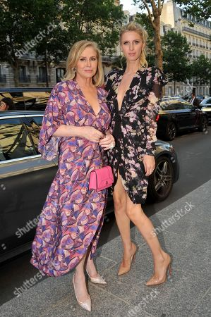 Nicky Hilton and Kathy Hilton