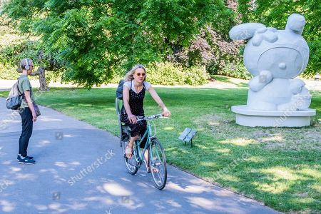 Editorial picture of Frieze Sculpture Park, London, UK - 02 Jul 2019