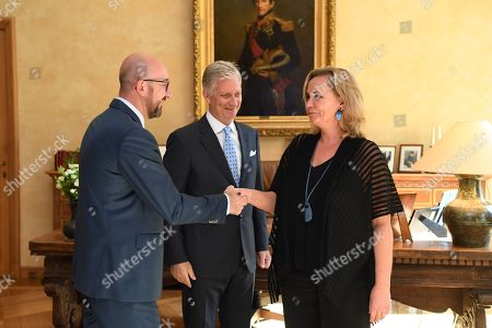 Editorial photo of King Philippe recieves ministerial oaths, Brussels, belgium - 02 Jul 2019