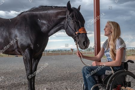 Stock Photo of Spencer Locke as Amberley Snyder