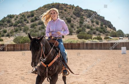 Stock Picture of Spencer Locke as Amberley Snyder