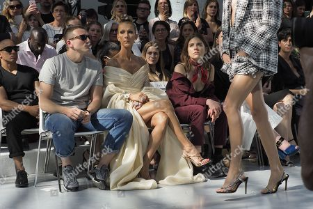 Stock Photo of Pepe Munoz and Celine Dion in the front row