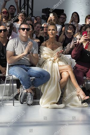 Editorial image of Alexandre Vauthier show, Front Row, Fall Winter 2019, Haute Couture Fashion Week, Paris, France - 02 Jul 2019