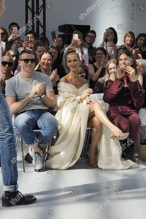 Editorial photo of Alexandre Vauthier show, Front Row, Fall Winter 2019, Haute Couture Fashion Week, Paris, France - 02 Jul 2019