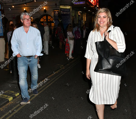 Jeremy Paxman and Jillian Taylor