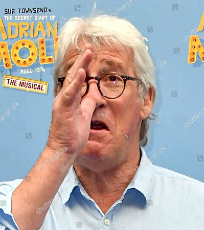 Editorial photo of 'The Secret Diary Of Adrian Mole Aged 13¾ the Musical' gala, London, UK - 02 Jul 2019