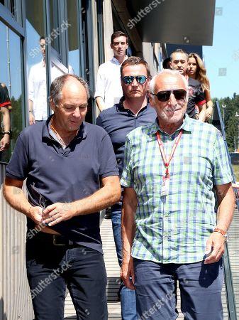 Dietrich Mateschitz and Gerhard Berger