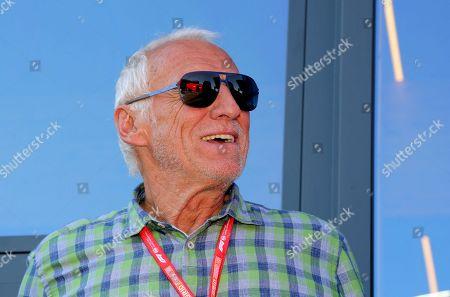 Editorial picture of Formula 1 World Championship 2018, Celebrities, Spielberg, Austria - 30 Jun 2019