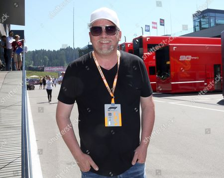 Editorial image of Formula 1 World Championship 2018, Celebrities, Spielberg, Austria - 30 Jun 2019
