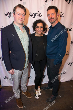 Daniel Rigby (Garry Lejeune), Meera Syal (Dotty Otley) and Lloyd Owen (Lloyd Dallas)