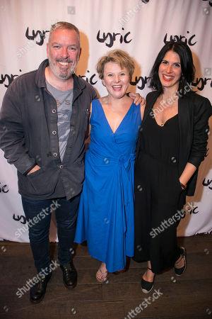 Lloyd Hutchinson, Monica Dolan and Lara Stubbs