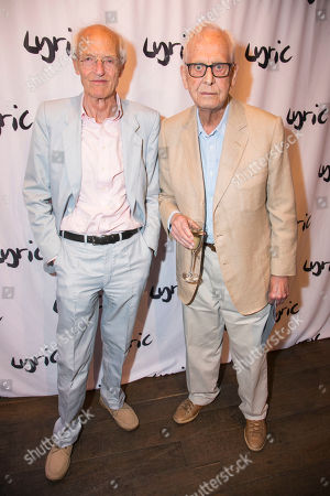 Stock Image of Michael Frayn (Author) and Michael Blakemore