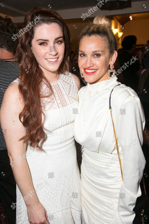 Lucie Jones (Jenna Hunterson) and Ashley Roberts (Dawn)