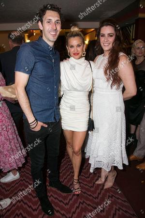 Blake Harrison (Ogie), Ashley Roberts (Dawn) and Lucie Jones (Jenna Hunterson)