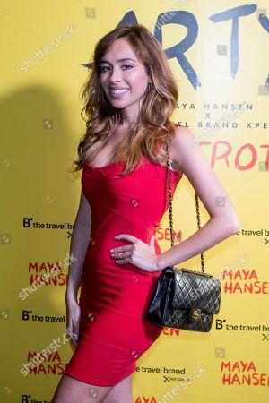 Editorial picture of Maya Hansen show, Spring Summer 2020, Arrivals, Mercedes-Benz Fashion Week, Madrid, Spain - 02 Jul 2019