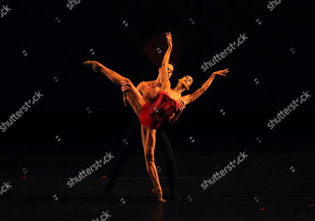 Mexican dancer Elisa Carrillo (front) and Brazilian dancer Marcelo Gomes (back) perform during the presentation 'Elisa and friends' at the National Auditorium in Mexico City, Mexico, 02 July 2019. Mexican Elisa Carrillo, Benois de la Danse award in the category of Best Dancer, opened on the 'Danzatlan, International Dance Festival' at the National Auditorium in Mexico City.