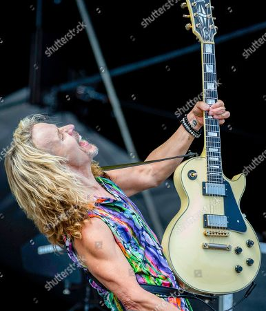 Stock Photo of Styx - Tommy Shaw