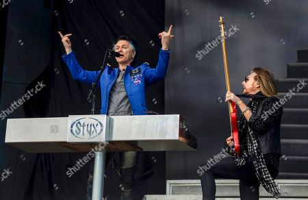Stock Picture of Styx - Lawrence Gowan and Ricky Phillips