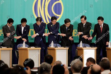 Editorial photo of Debate ahead of upper house election in Tokyo, Japan - 03 Jul 2019